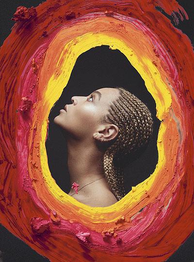 Яркие краски: Бейонсе снялась для юбилейной обложки глянца