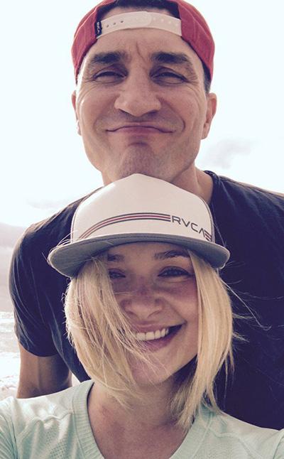 Невеста Владимира Кличко рассказала, как боролась с послеродовой депрессией
