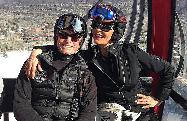Весенние каникулы: Майкл Дуглас и Кэтрин Зета-Джонс наслаждаются отдыхом в горах