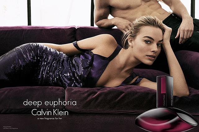 Соблазнительная Марго Робби блистает в рекламе Calvin Klein