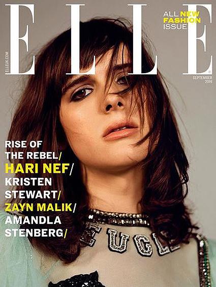 Кристен Стюарт блистает на обложке британского Elle