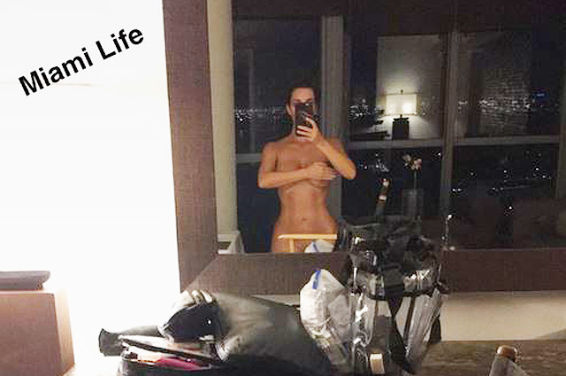 Совершенно голая Ким Кардашьян похвасталась загаром