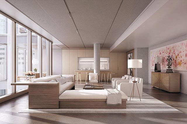 Стильно и роскошно: в сеть попали фото новой квартиры Джорджа и Амаль Клуни
