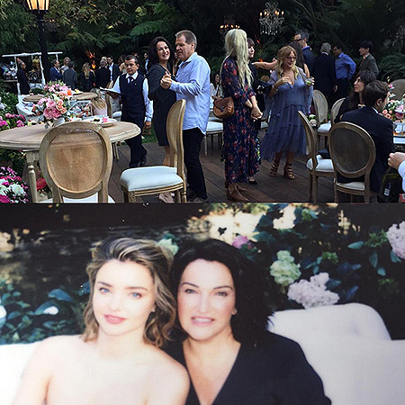 Время для вечеринки: Миранда Керр и Эван Шпигель отпраздновали помолвку