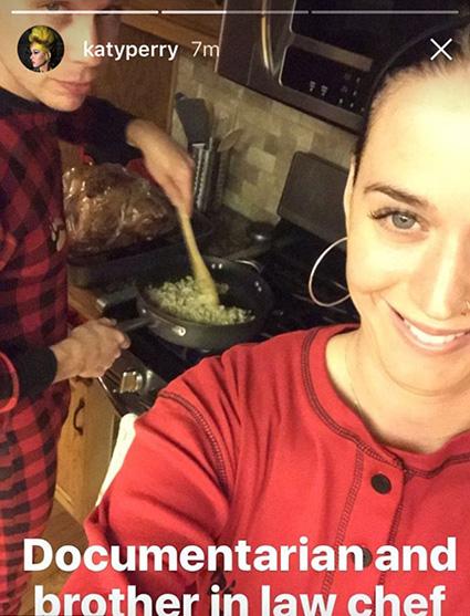Они все же вместе: Орландо Блум и Кэти Перри отпраздновали День благодарения