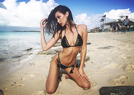Эмили Ратаковски, Алессандра Амбросио, Белла Хадид и другие супермодели веселятся на Багамах