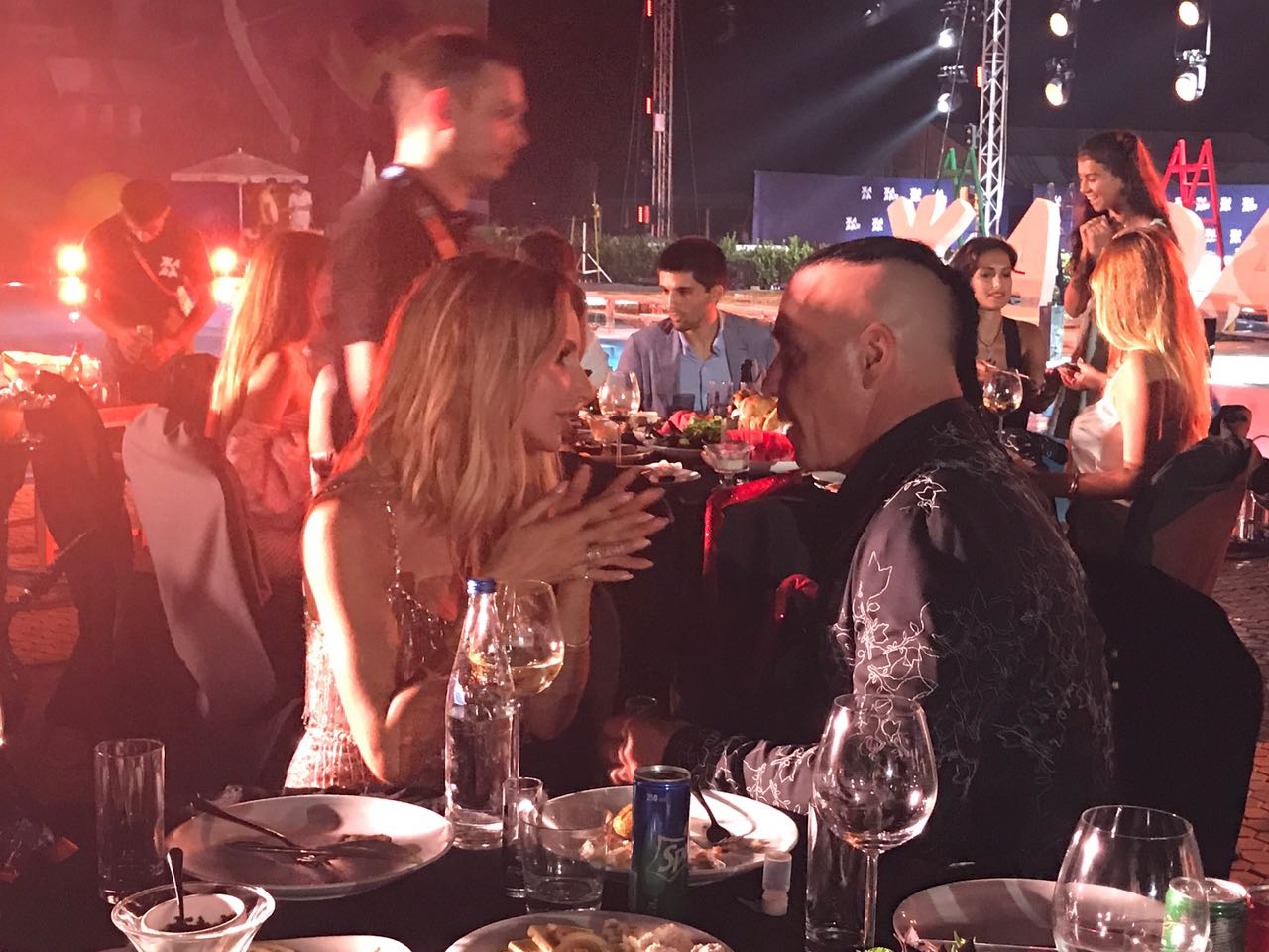 Солист группы Rammstein не устоял перед чарами Светланы Лободы