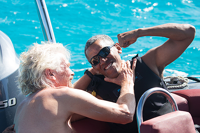 Каникулы экс-президента: сеть взорвало видео Барака Обамы с отдыха на острове
