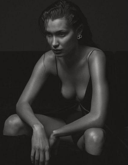Белла Хадид повторила известную обнаженную фотосессию Кейт Мосс