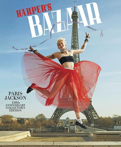 Дочь Майкла Джексона снялась в стильной фотосессии в Париже и рассказала об отношениях с отцом