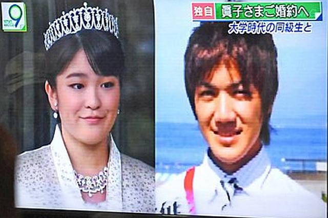 Это любовь! Японская принцесса Мако отказался от престола ради свадьбы с простым парнем
