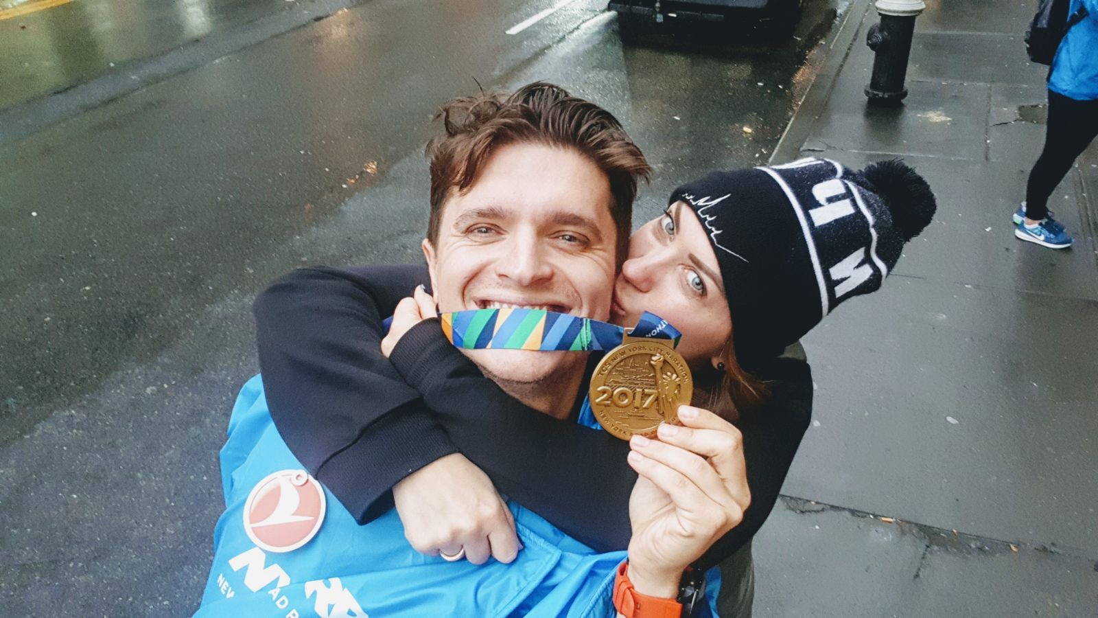 Анатолий Анатолич пробежал 42-километровый Нью-Йоркский марафон