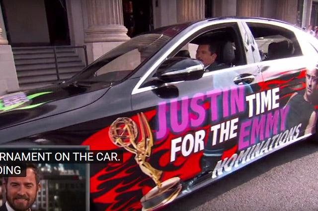 Дженнифер Энистон разыграла своего супруга Джастина Теру в эфире телешоу