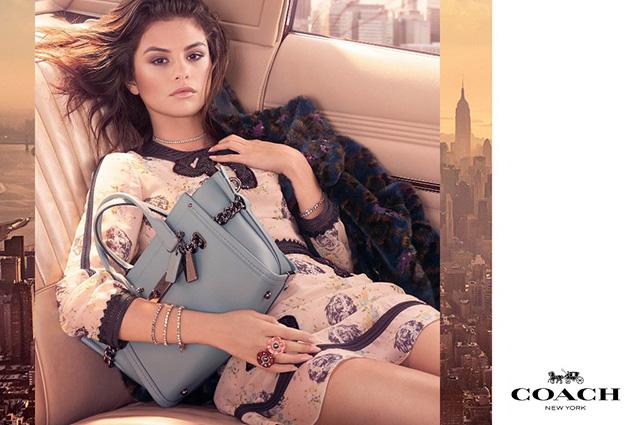 Сама элегантность: Селена Гомес блистает в стильной рекламной кампании