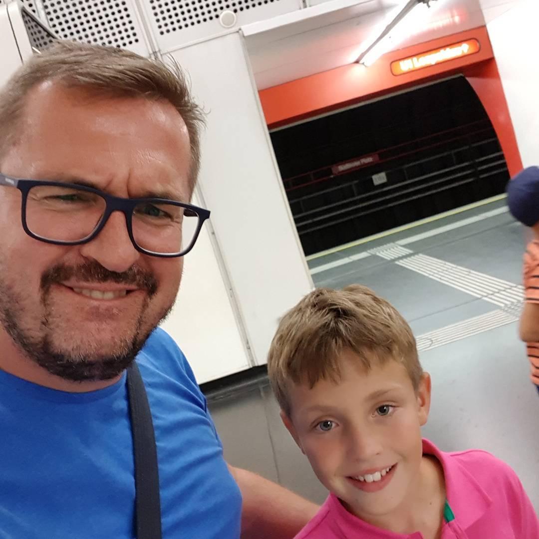 Редкие кадры: Александр Пономарев показал повзрослевшего сына Сашу