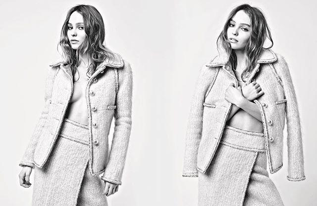 Изысканный соблазн: Лили-Роуз Депп снялась в фотосессии для Chanel