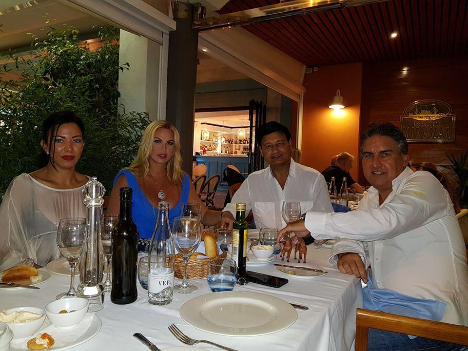 Бассейн, шумная вечеринка и деликатесы: как муж Камалии отпраздновал свой день рождения