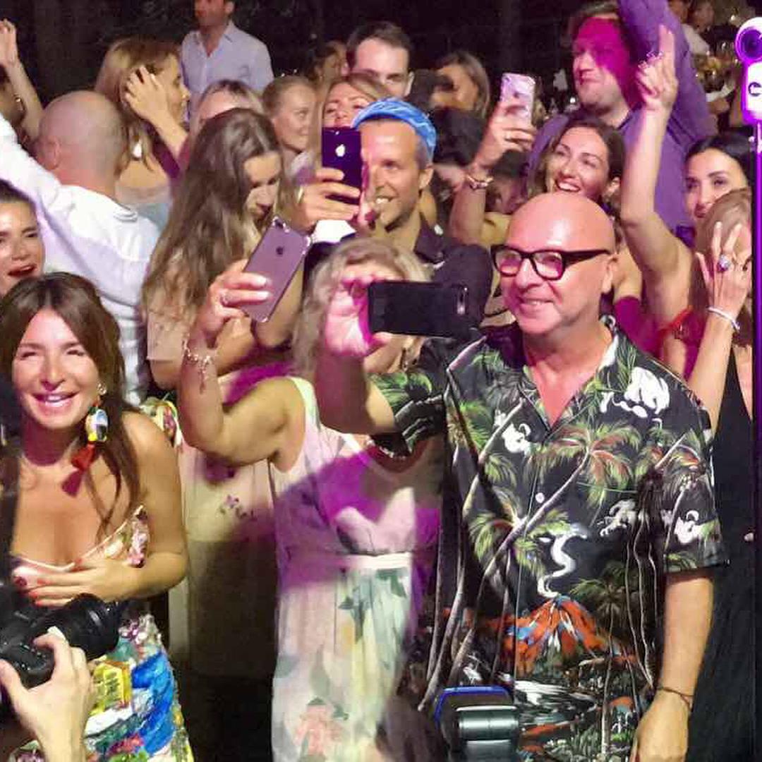 Дизайнеры Dolce & Gabbana оторвались под выступление Верки Сердючки