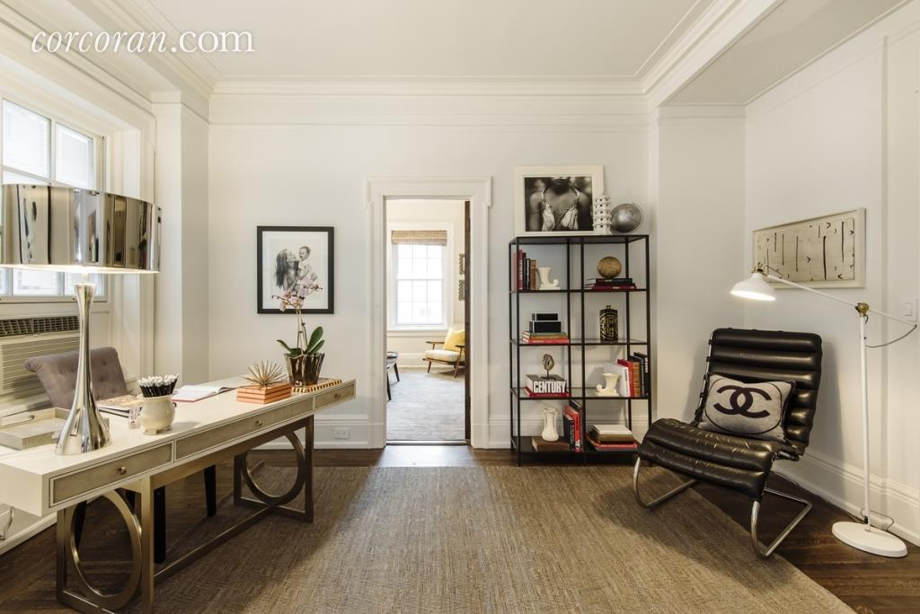 Элегантная классика: как выглядит квартира Умы Турман в Нью-Йорке