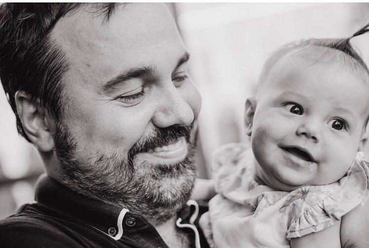 На кого похожа: Антон Лирник наконец-то показал 4-месячную дочь