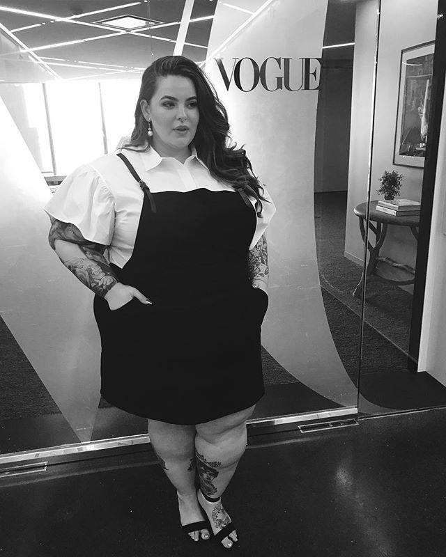 Модель plus-size Тесс Холидей о своей интимной жизни: Толстые люди часто занимаются сексом!