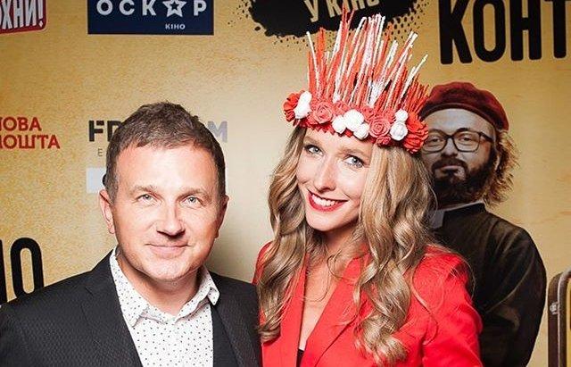 Звездная пара: Катя Осадчая и Юрий Горбунов вместе сходили в кино