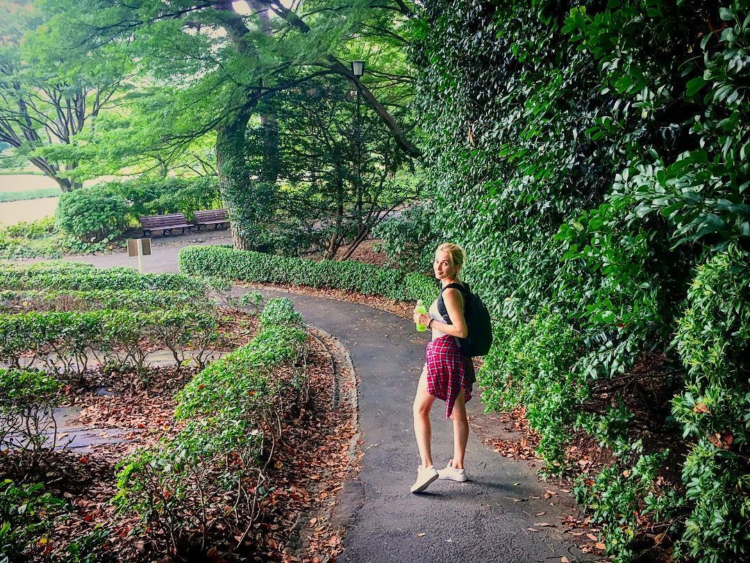 Аида Николайчук в Японии