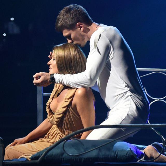 За кулисами: Наталья Могилевская опубликовала соблазнительное видео после эфира