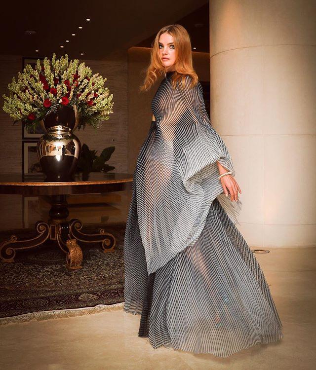Эта высокая мода: два необычных образа Натальи Водяновой