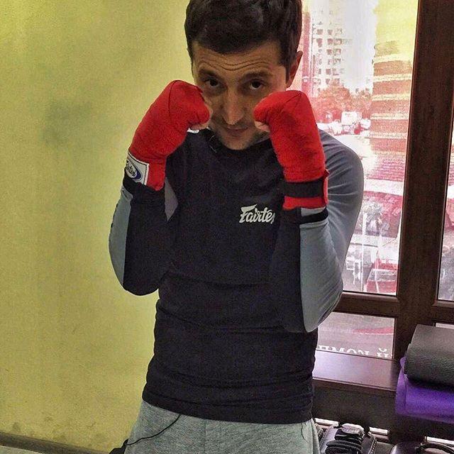 Только спорт: Владимир Зеленский показал свою тренировку
