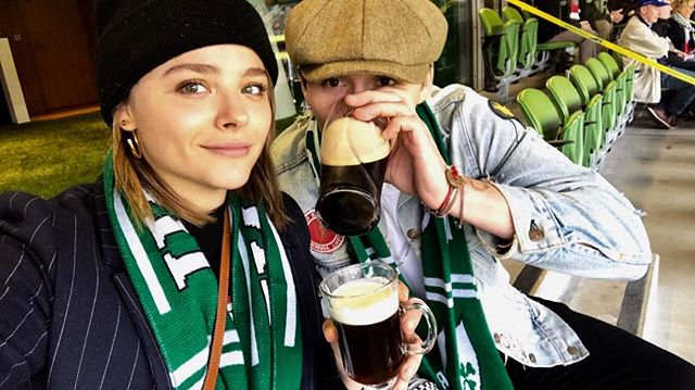 Романтическое путешествие: Хлоя Морец и Бруклин Бекхэм побывали в Ирландии