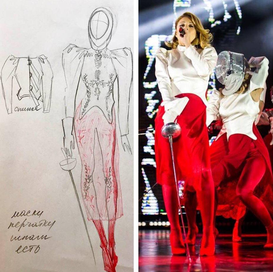 За кулисами шоу: Тина Кароль показала, как создаются ее эксклюзивные наряды