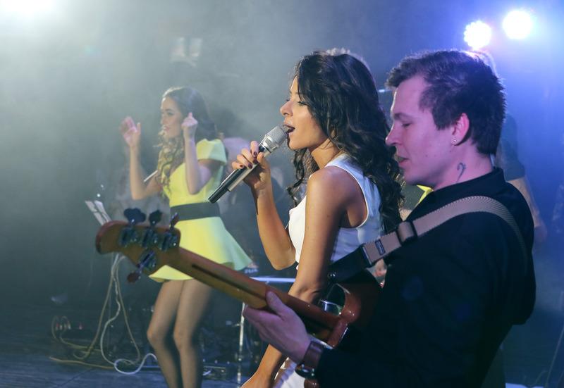 Злата Огневич дала сольный концерт во Львове