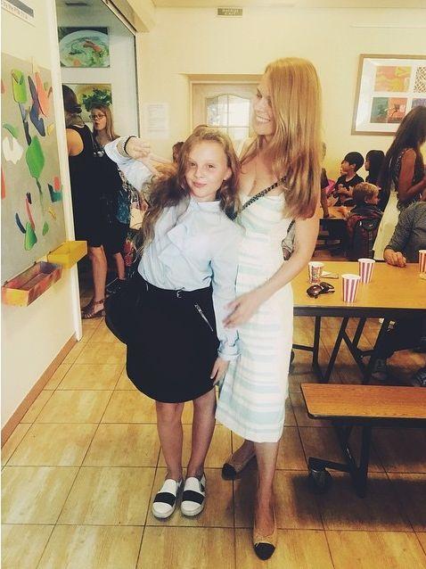 Ольга Фреймут с дочерью Златой