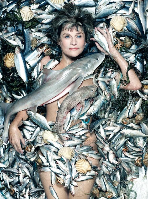 Хелена Бонем Картер, Джуди Денч, Джиллиан Андерсон: звезды разделись в поддержку морской живности
