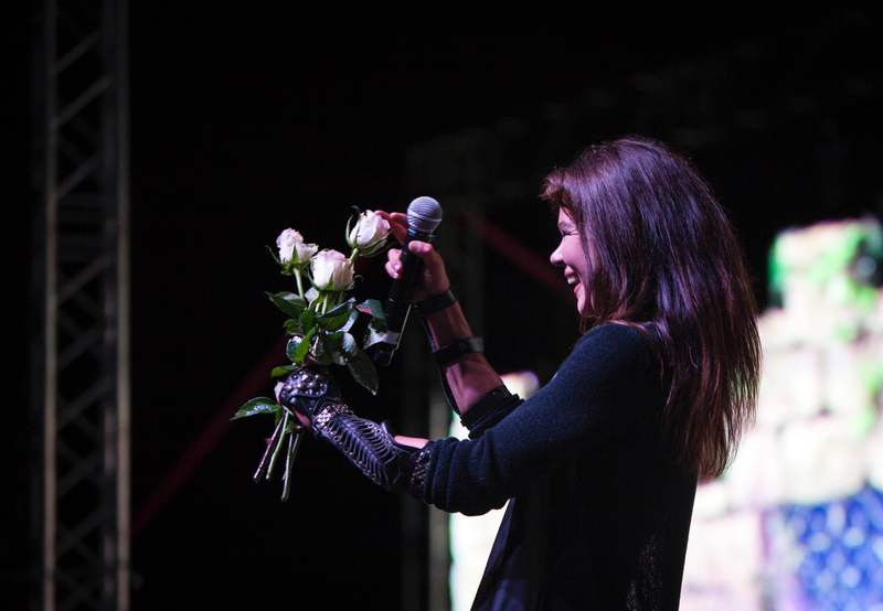 Руслана спела новой вокальной техникой кугыкание