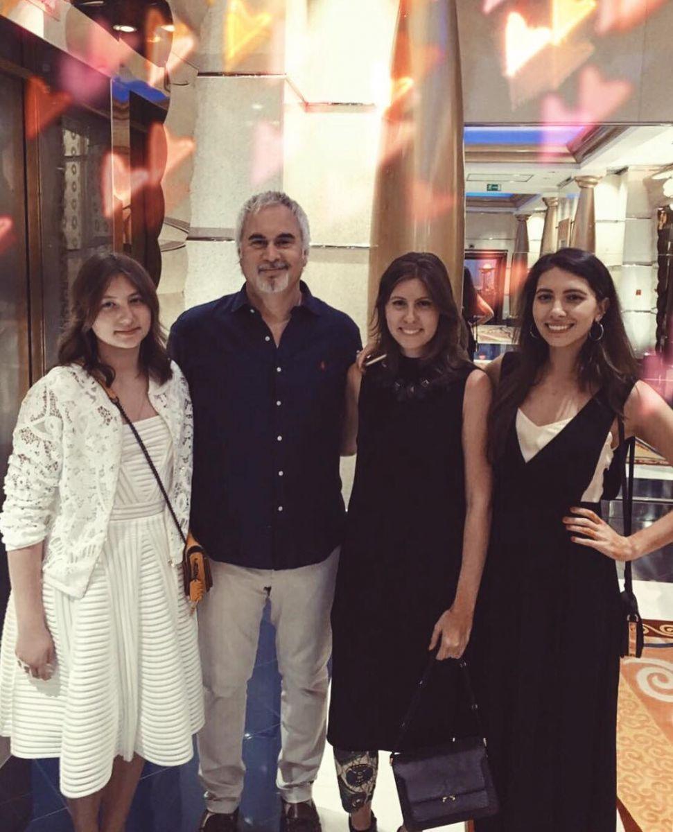 Валерий Меладзе с дочками