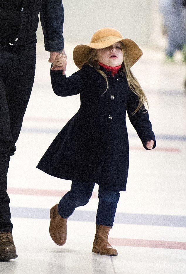 Дэвид Бекхэм показал повзрослевшую красавицу-дочь