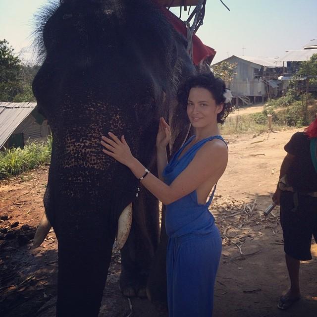 Даша Астафьева инстаграм отдых фото 2014