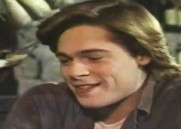 В сеть попали уникальные фотоснимки 24-летнего Брэда Питта