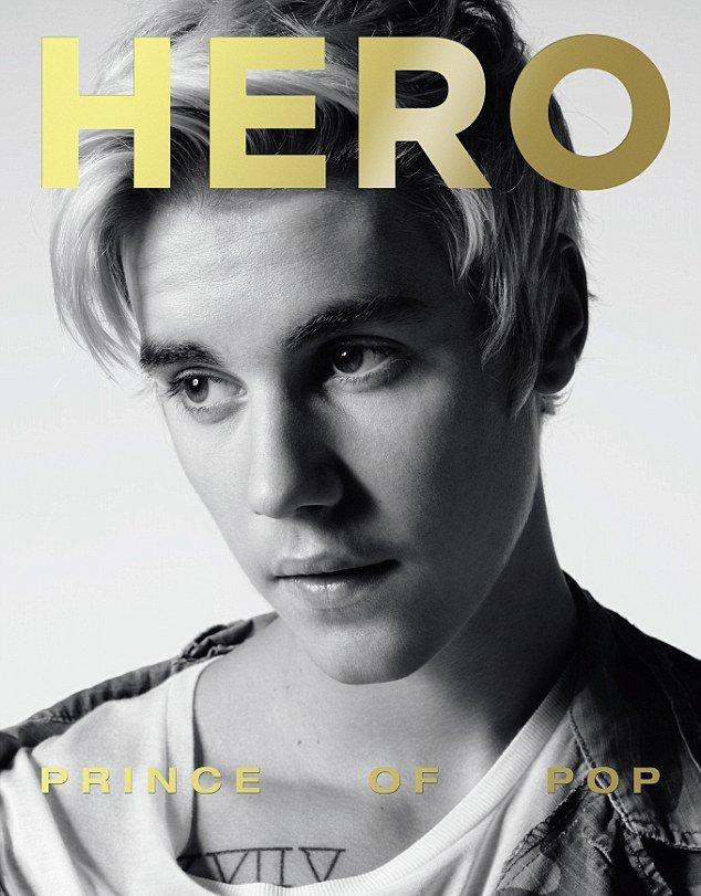 Пай-мальчик: Джастин Бибер снялся в новом образе для Hero Magazine