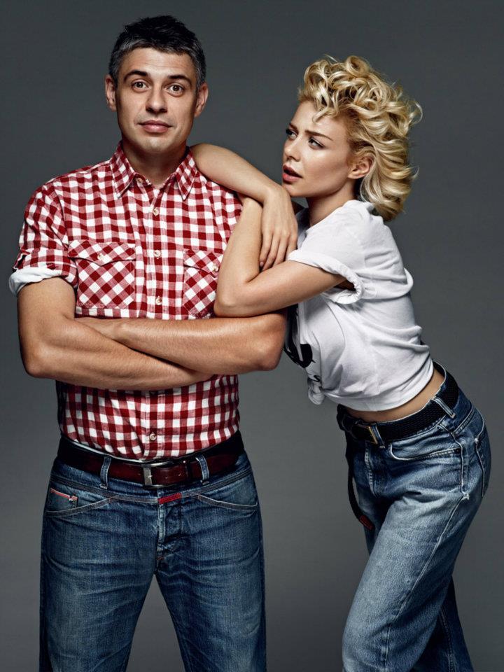 Тина Кароль и ее муж Евгений Огир