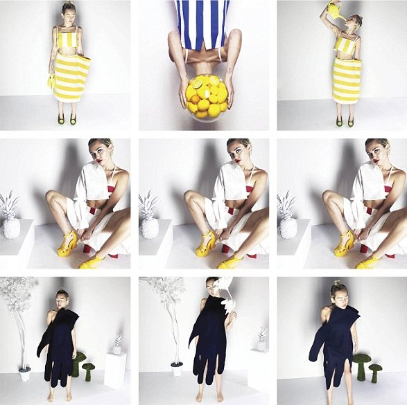 Голая правда: Майли Сайрус разделась для V Magazine