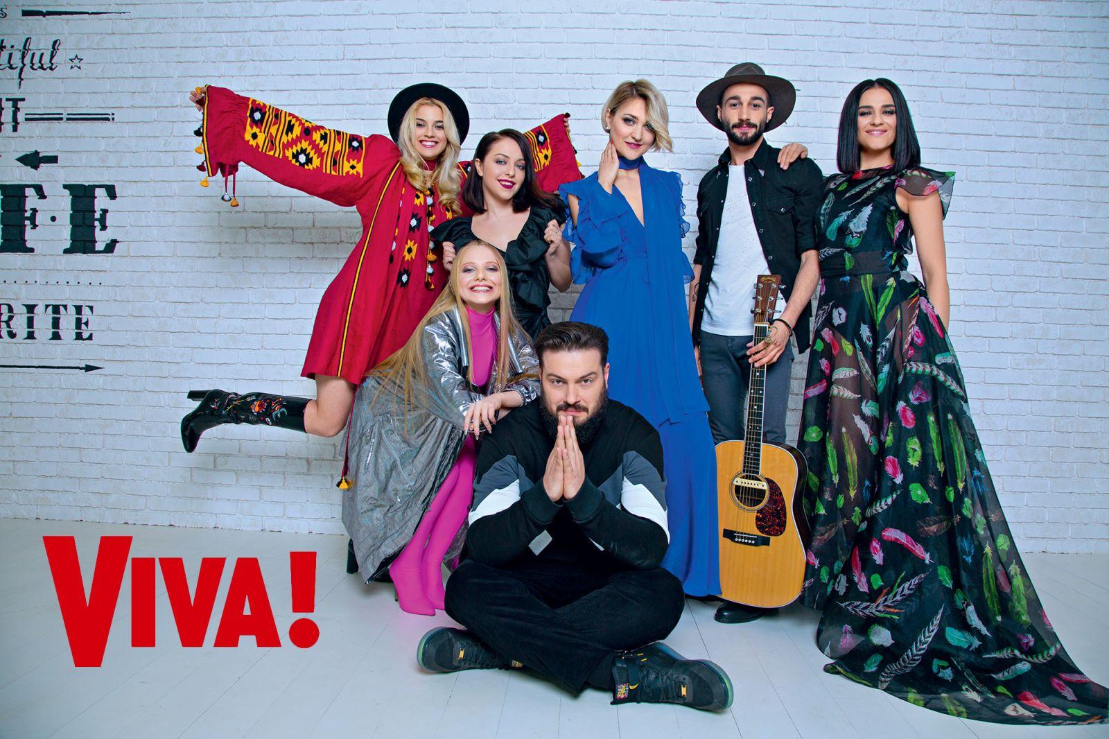 """Эксклюзив: участники шоу """"Голос країни-7"""" снялись в яркой фотосессии для Viva!"""