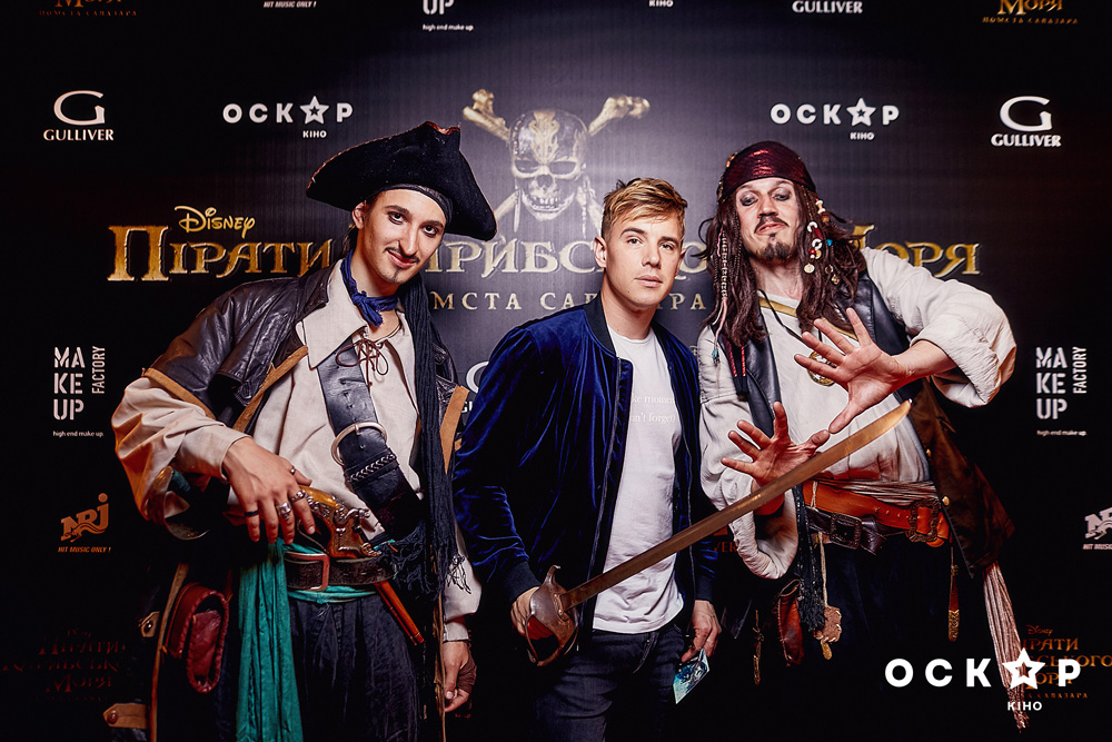 """Звезды на премьере фильма """"Пираты Карибского моря: месть Салазара"""""""