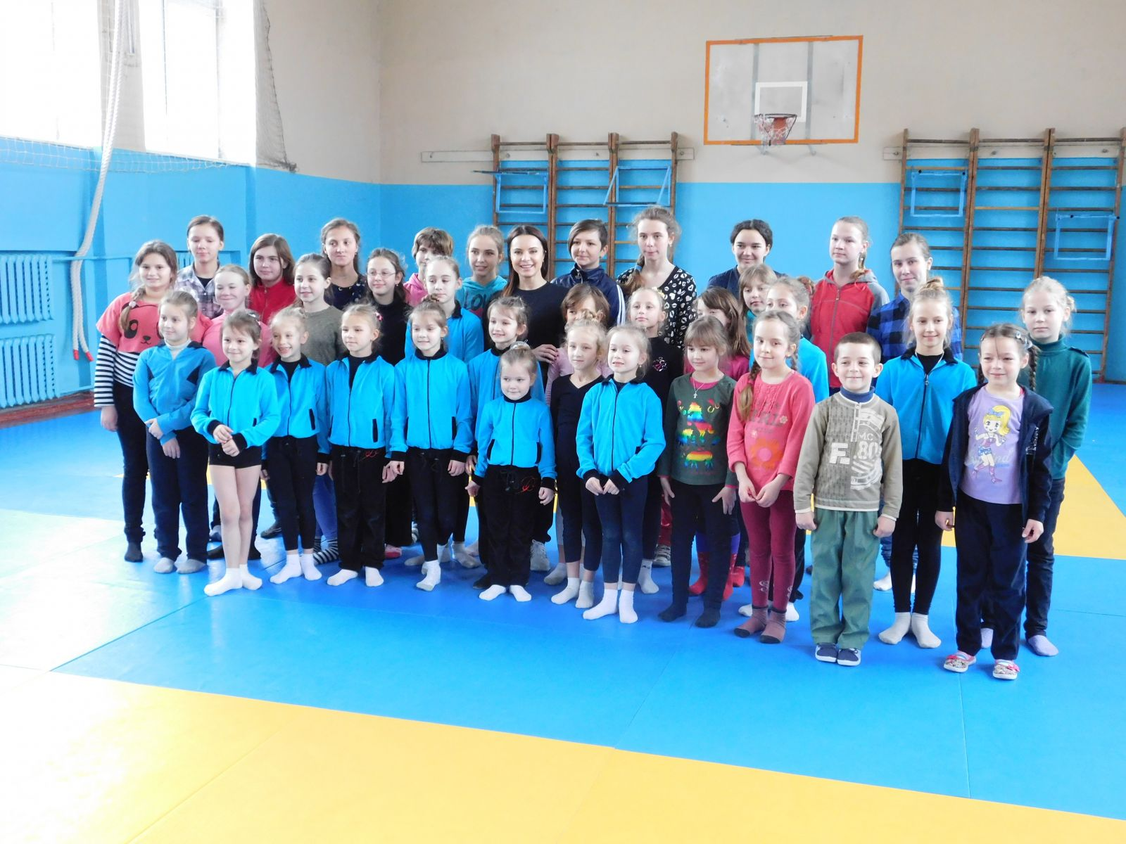 Лилия Подкопаева посетила школу-интернат
