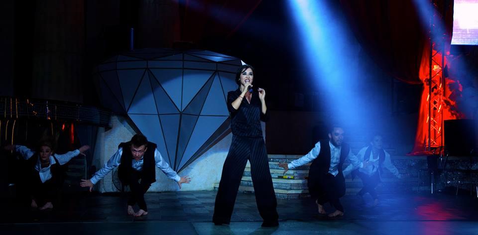 Анна Завальская представила свое шоу в Одессе