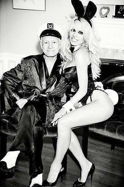 """Памела Андерсон снялась для последней """"обнаженной"""" обложки журнала Playboy"""