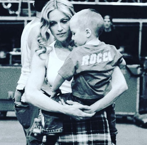 Мадонна впервые прокомментировал скандальный арест сына Рокко