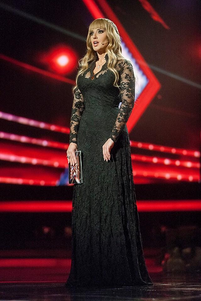Оксана Марченко платье фото 2013